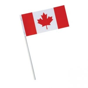 "3"" x 6"" Stock Canada Flag FLAG-3X6-CANADA Canada - Stock Products"