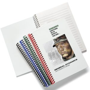 """5"""" x 7"""" Plastic Coil Journals JB-201 Journals and Workbooks Plastic Coil Journals"""