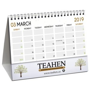 Seed Paper Desk Flip Calendars JJC-4000-SP Calendars Desk Flip Calendars