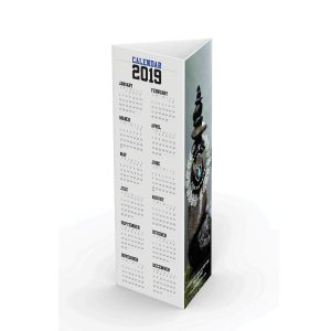 Tri fold Seed Paper Table Tent Calendar JJC-TT-103-SP Calendars Table Tent Calendars