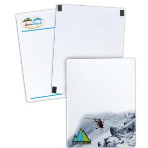 "8.5"" x 11"" 12 Point Card Stock Memo Boards LP-1004 Paper Products Memo Boards"