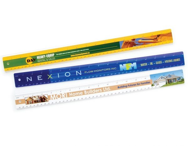 """18"""" Heavyweight Plastic Rulers RL-4CP-18 Bookmarks and Rulers Heavyweight Plastic Rulers and Yardsticks"""