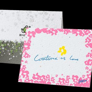 "Direct Print Seeded Paper 5"" x 7"" Greeting Card SP-DP-GC Seeded Products Direct Print Seeded Paper Products"