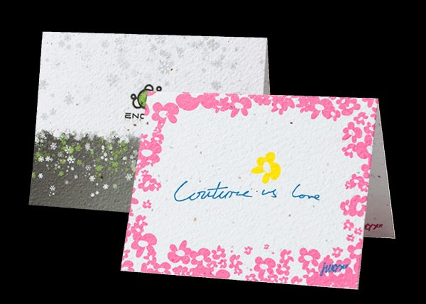 """Direct Print Seeded Paper 5"""" x 7"""" Greeting Card SP-DP-GC Seeded Products Direct Print Seeded Paper Products"""