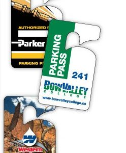 Permit Hangers and Holders