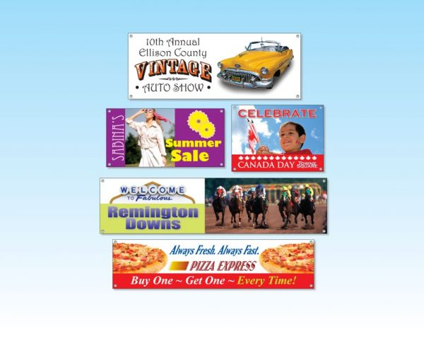 """Vinyl Banners - Up to 36"""" x 48"""" VB-36x48 Banners and Graphics Vinyl Banners"""