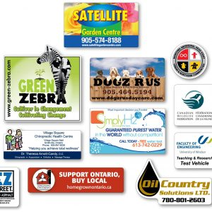 """Vehicle Magnet Signs - Up to 20"""" x 24"""" VS-20x24 Magnets Outdoor Magnets"""